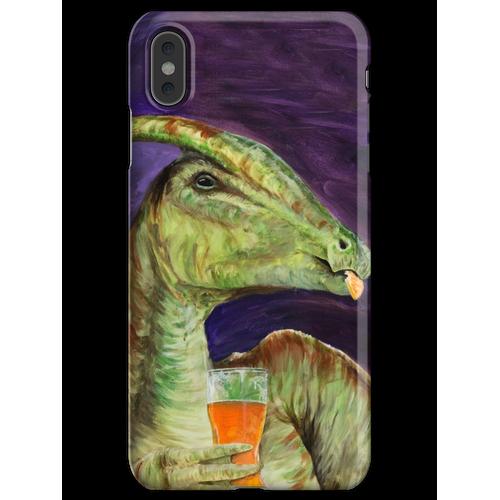 Parasaurolophus trinken Hefeweizens iPhone XS Max Handyhülle