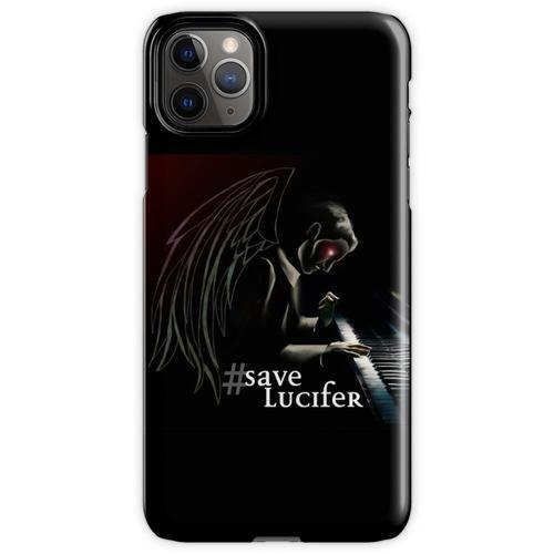 #SaveLucifer Lucifer am Klavier iPhone 11 Pro Max Handyhülle