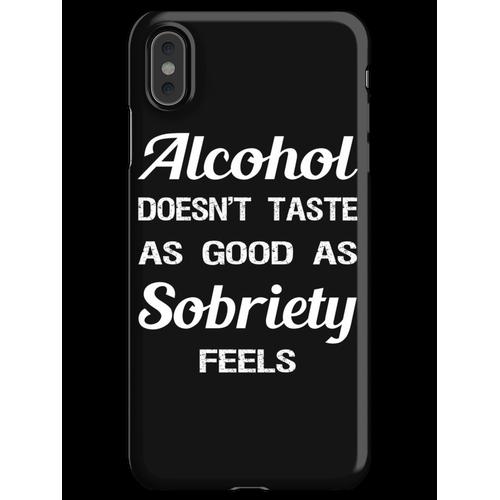 Alkoholsucht-Wiederaufnahme-Slogan iPhone XS Max Handyhülle