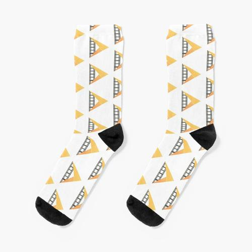 JumpCut-Logo Socken