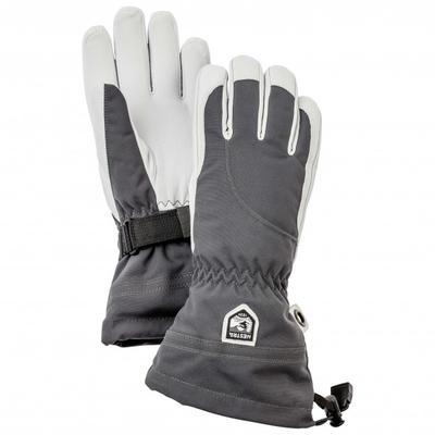 Hestra - Women's Heli Ski 5 Finger - Handschuhe Gr 8 grau/schwarz