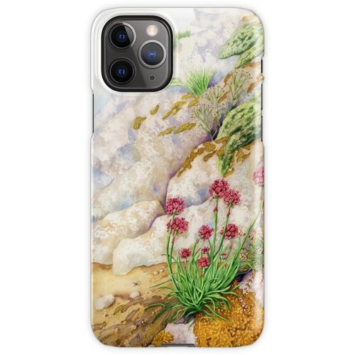 Sea Pink (Mischtechnik auf Papier) iPhone 11 Pro Handyhülle