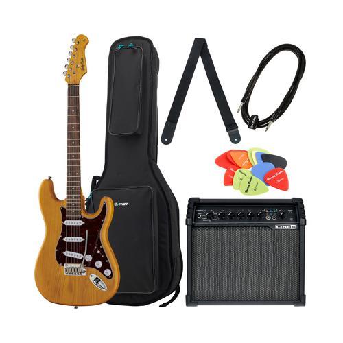 Brümmer E-Gitarren ST-90SA Set