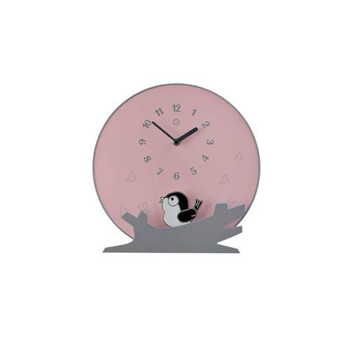 Sompex Clocks Pendeluhr Seattle Pendeluhr / Ø 30x6,5 cm / Pink