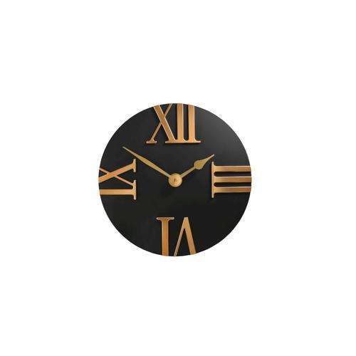 Sompex Clocks Wanduhr Bologna Wanduhr / Ø 30,5x3,5 cm / blau, weiss