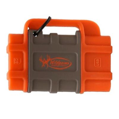 """""""Wildgame Innovations Flash Memory Card Accessories SD Card Reader for Apple Gray/Orange"""""""