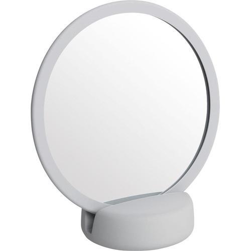 BLOMUS Kosmetikspiegel SONO grau Damen Schminkutensilien Make Up Kosmetik