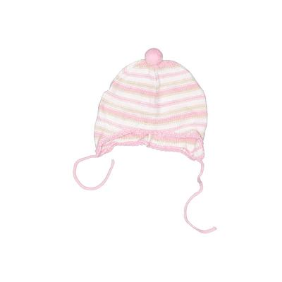Beanie Hat: Pink Stripes Accesso...