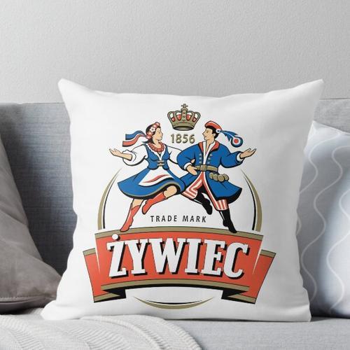 Zywiec Polska Bier - Polnisch Kissen