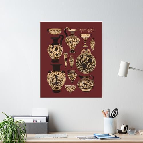 Late Minoan Ceramics Poster