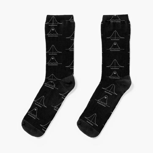 Normalverteilung, Paranormalverteilung Mathematik Geschenk Socken