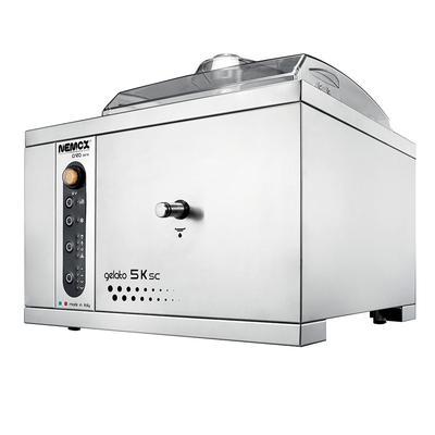 Eurodib GELATO-5K Countertop Gelato Machine w/ (1) 7 2/5 qt Flavor Hopper, 120v