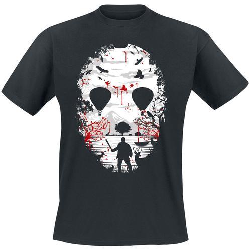 Horror Idylle Herren-T-Shirt - schwarz