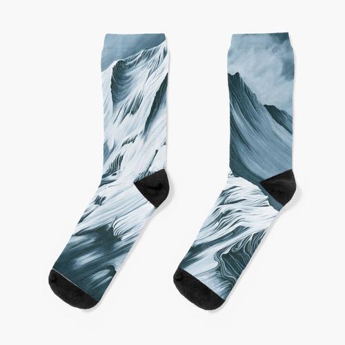 Der graue Berg Socken