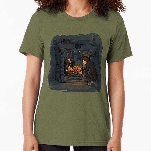 Die Hexe im Kamin Vintage T-Shirt