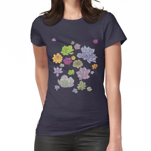 Sukkulenten Sukkulenten Sukkulenten II. Sukkulenten Frauen T-Shirt