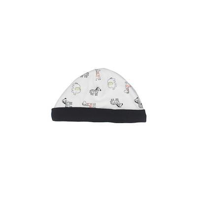 Beanie Hat: White...