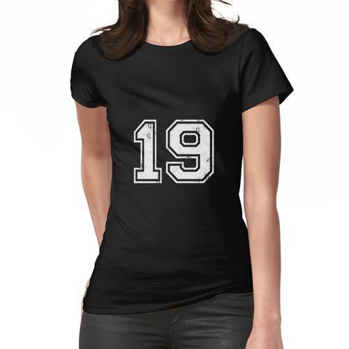19 TRIKOT Trikots Nummer 19 Trikot Sport Frauen T-Shirt