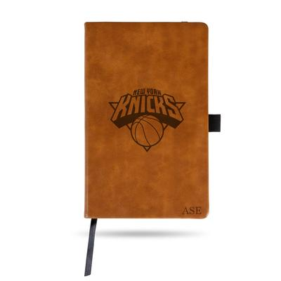 """""""Sparo Brown New York Knicks Small Personalized Notepad"""""""
