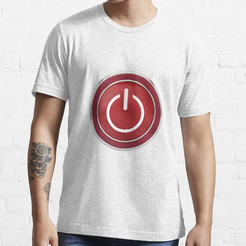 Einschaltknopf Essential T-Shirt