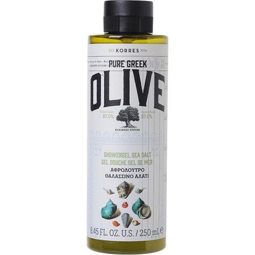 Korres Olive & Sea Salt Shower Gel 250 ml Duschgel