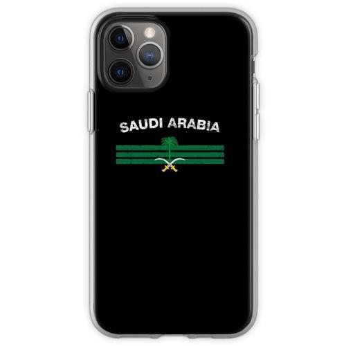 Saudisches oder saudiarabisches Flaggen-Hemd - Saudi-oder Saudi-ara Flexible Hülle für iPhone 11 Pro
