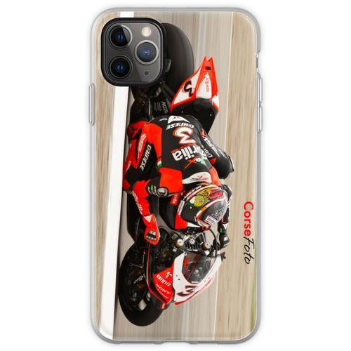 MAX BIAGGI im Miller Motorsports Park 2012 Flexible Hülle für iPhone 11 Pro Max