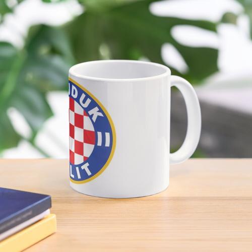 Hajduk spaltete sich Tasse