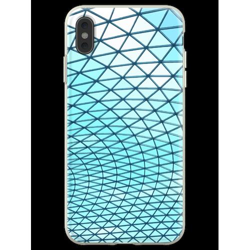 British Museum Glasdach Flexible Hülle für iPhone XS Max