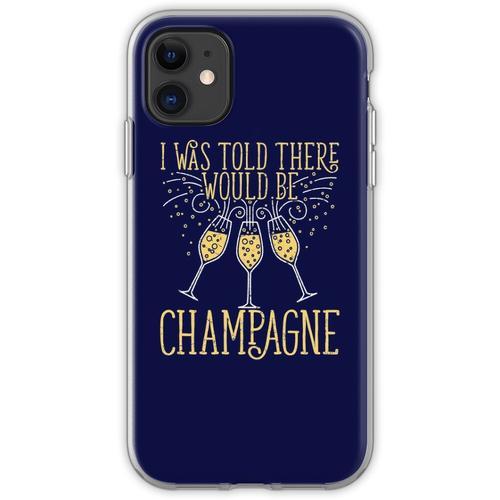 Silvester wurde mir gesagt, es gäbe Champagner Flexible Hülle für iPhone 11