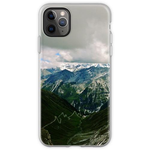 Stilfserjoch (Stilfser Joch, Stilfser Joch) Flexible Hülle für iPhone 11 Pro Max