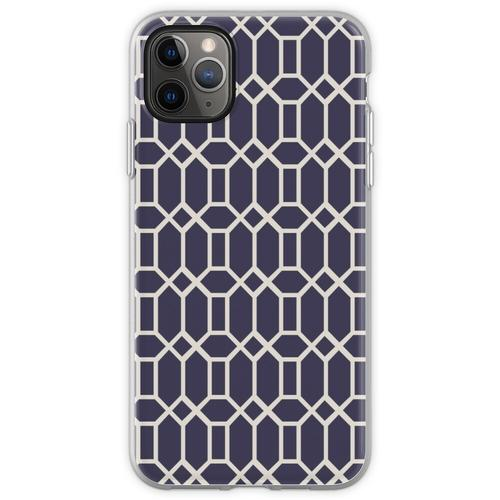 Achteckige Fliesen (Muster bitte) Flexible Hülle für iPhone 11 Pro Max