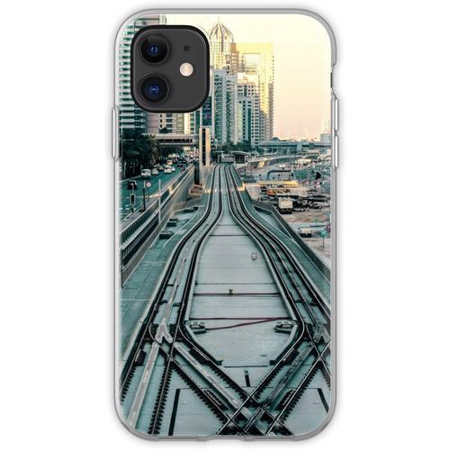 Eisenbahntag Flexible Hülle für iPhone 11