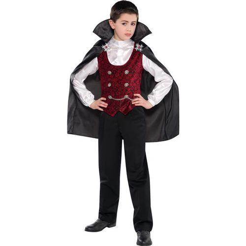 Kostüm Vampir, bunt, Gr. 110/116