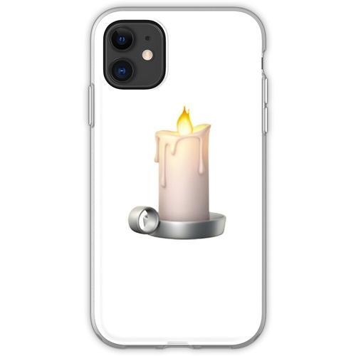 Kerze Emoji Flexible Hülle für iPhone 11