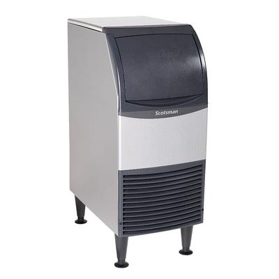 """Scotsman UF1415A-1 15""""W Flake Undercounter Ice Maker - 142 lbs/day, Air Cooled, 115v"""