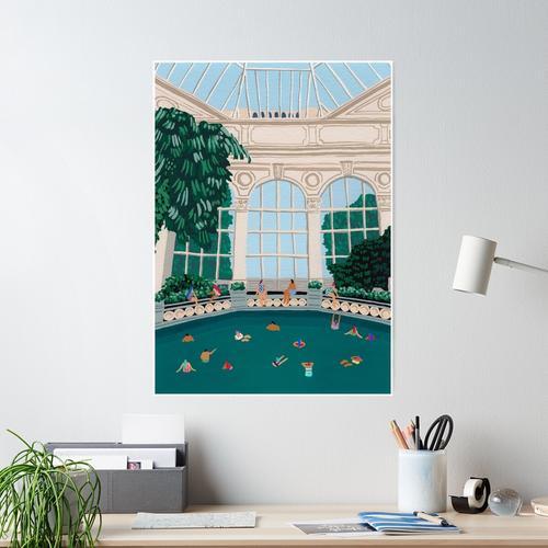 Gewächshaus Poster