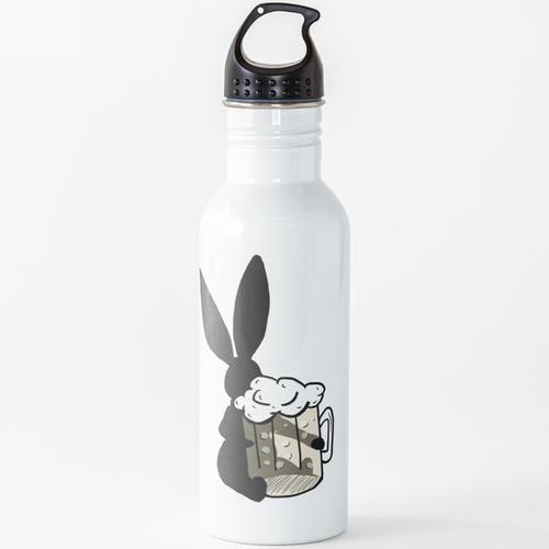 Bierhase Wasserflasche
