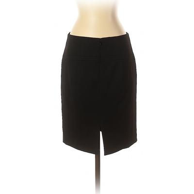 Express Casual Skirt: Black Solid Bottoms – Size 4
