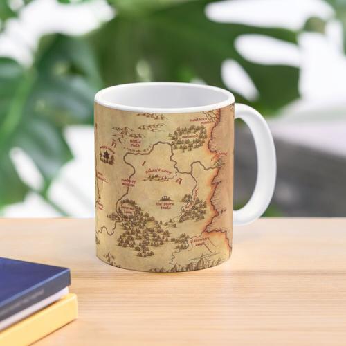 Map of Narnia Mug