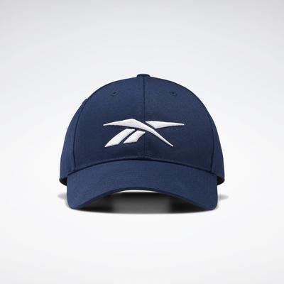 Reebok Unisex Active Enhanced Baseball Cap in Collegiate Navy Size OSFM - Training Accessories