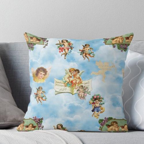 Wolken Engelchen Engelchen Kissen