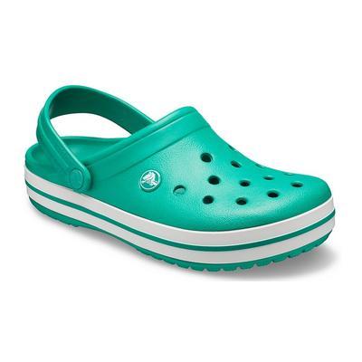 Crocs Deep Green / White Crocban...