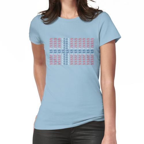 Fahrradflagge Norwegen (klein) Frauen T-Shirt