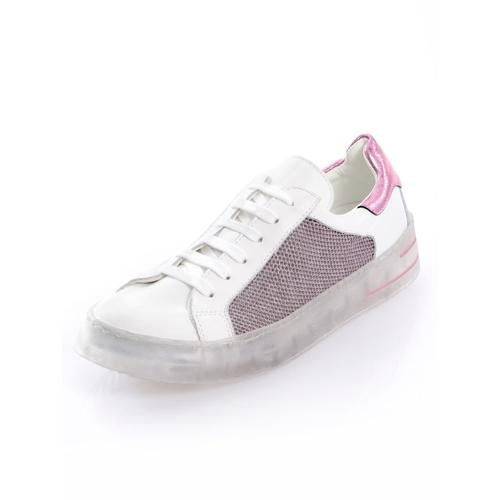 Alba Moda, Sneaker mit außergewöhnlicher Sohle, weiß