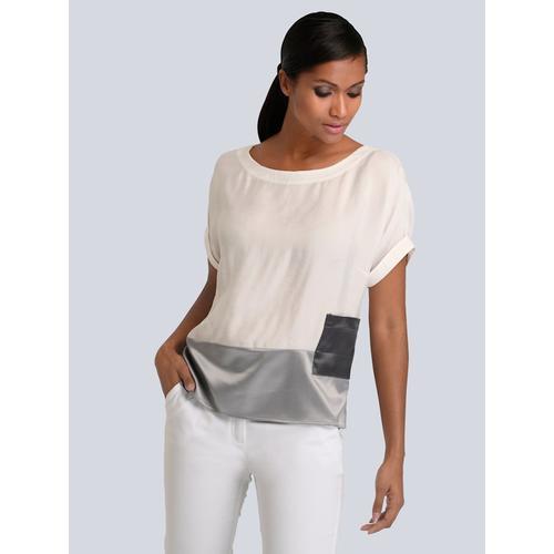 Alba Moda, Bluse aus hochwertiger Ware, weiß