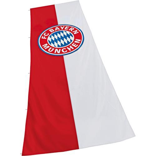 FC Bayern Fahne München Hissfahne mit Logo rot Kinder Bundesliga-Fanshop Fanartikel