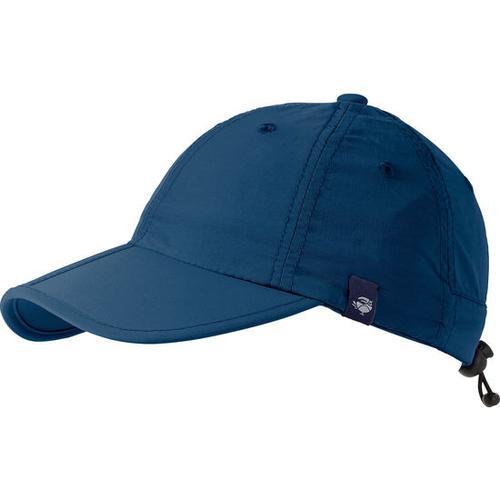 Taschen-Baseballkappe, blau, Gr. 50/52