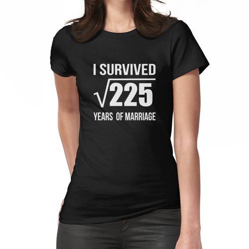 15. Hochzeitstag T-Shirt Hochzeitsgeschenk 15 Jahre Hochzeitstag T-Shirts Frauen T-Shirt