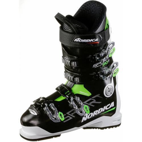 Nordica SPORTMACHINE 90 X Skischuhe Herren in nero-bianco-verde, Größe 28 1/2